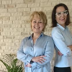Małgorzata Wawrzyszko & Anna  Śniegowska